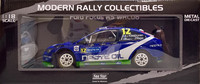 Ford Focus RS WRC08 Rally Finland '10 (Kankkunen - Repo) 1:18
