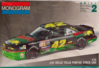 Pontiac Stock Car Mello Yello #42, 1:24