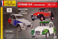 Citroën 2CV 3 Decorations 1:24