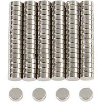 Magneettinappi, 100kpl/pkk, ⌀5mm