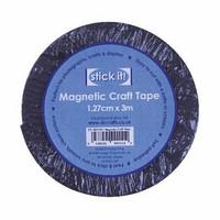 Magneettinauha Itseliimautuva 1.27cm x 3m