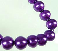 Lasihelmi 12mm Violetti