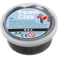 Foam Clay® Helmimassa, musta, 35g