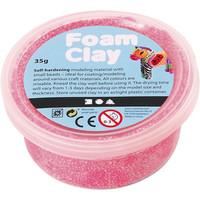 Foam Clay® Helmimassa, neonpinkki, 35g