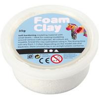 Foam Clay® Helmimassa, valkoinen, 35g