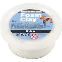 Foam Clay® Helmimassa, pimeässä hohtava , 35g