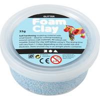 Foam Clay®, kimalle, vaaleansininen, 35g