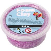Foam Clay® Helmimassa, neonlila, 35g