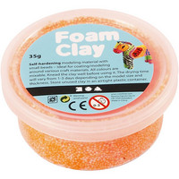 Foam Clay® Helmimassa, neonoranssi, 35g