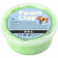 Foam Clay® Helmimassa, neonvihreä, 35g