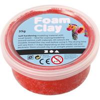 Foam Clay® Helmimassa, punainen, 35g