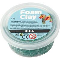 Foam Clay- helmimassa 35g tummanvihreä