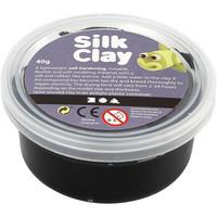 Silk Clay- silkkimassa 40g musta