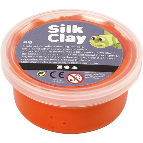 Silk Clay- silkkimassa 40g oranssi