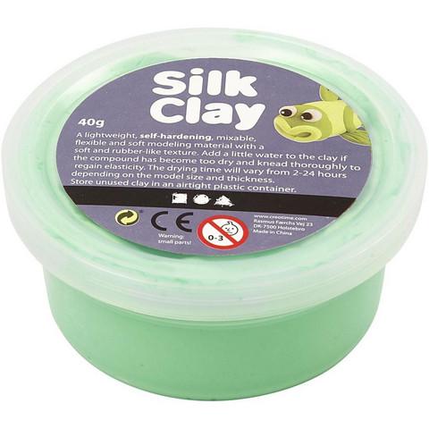 Silk Clay® silkkimassa, vaaleanvihreä, 40g