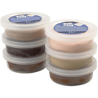 Silk Clay- silkkimassa 6x14g ihonvärit