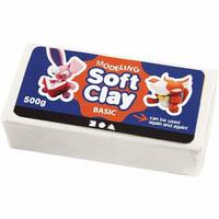 Muovailuvaha Soft Clay valkoinen