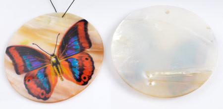 Korunosa Helmiäisperhonen
