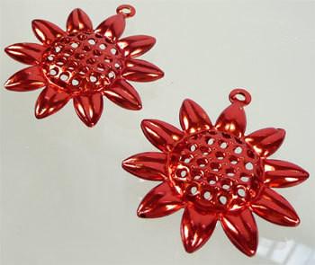 Korunosa Punainen auringonkukka