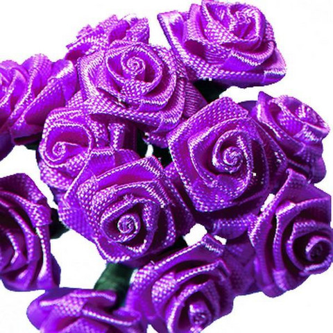 Satiiniruusut 12mm, lila