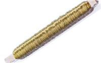 Kukkalanka, 0,52mm 100g, kulta, puupuolassa