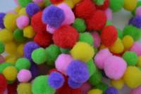 Pom Pom 10mm Eri Värejä