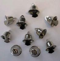 Kellot, 15mm, 10kpl, hopea