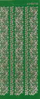 Ääriviivatarra, Lehtiboordi, vihreäkulta