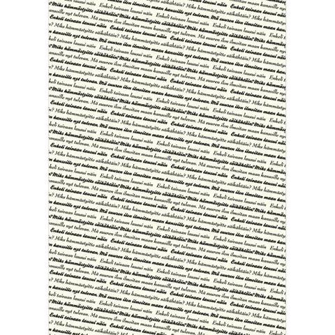 Designkartonki, Enkeli Taivaan, Vanilja, 120g