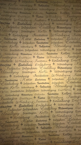 Desing Paperi, Kutsu erikielillä