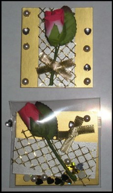 Korttikoriste, Ruusu