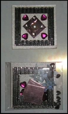 Korttikoriste, Sydän #1