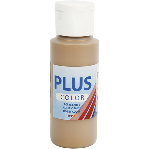 Plus Color, askartelumaali, 60ml, Antique Gold