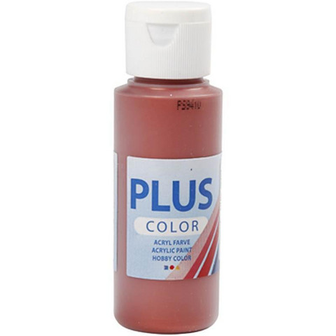 Plus Color, askartelumaali, 60ml, kupari