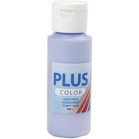 Plus Color, askartelumaali, 60ml, laventelinsininen