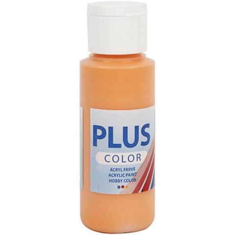 Plus Color, askartelumaali, 60ml, oranssi