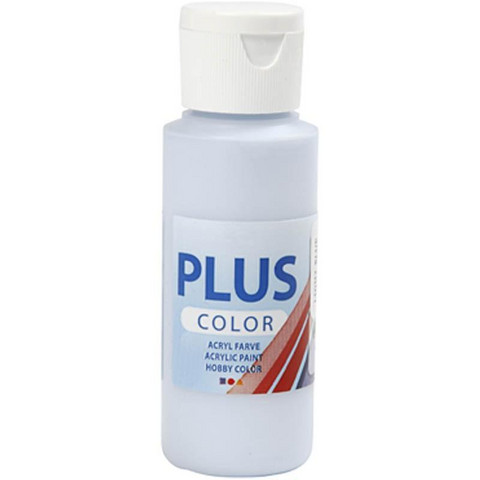 Plus Color, askartelumaali, 60ml, vaaleansininen
