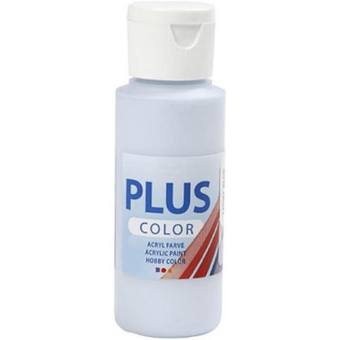 Plus Color, askartelumaali, 60ml, vaaleansininen