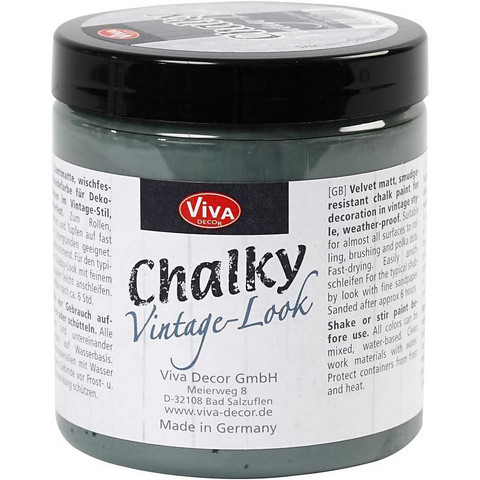 Chalky Vintage Look -maali, dark green (702), 250ml
