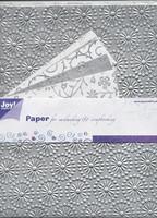 Käsintehty, Paperipakkaus, A4, Hopea