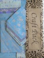 Käsintehty Paperipakkaus, sininen