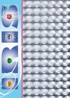 Hologrammikartonki, Ruudut, Hopea, A4