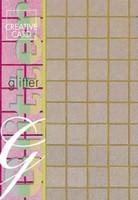 Hologrammikartonki, A4, Glitterkulta