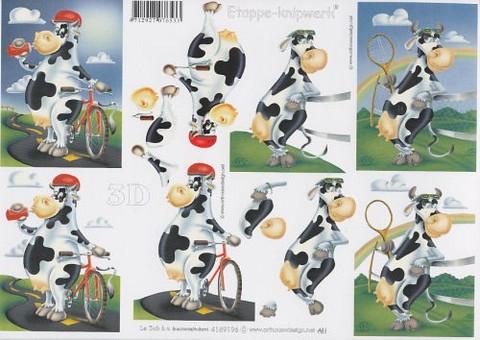 3D, Lehmä
