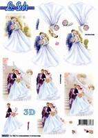 3D Stanssattu, Hääpari, #1