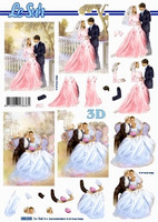 3D Stanssattu, Hääpari, #2