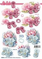 3D Stanssattu, Vauva Tyttö/Poika