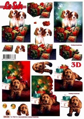 3D, Stanssattu, Joulukoirat