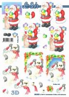 3D, Stanssattu, Joulupukki ja koira