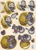 3D, TBZ, Moottoripyörä